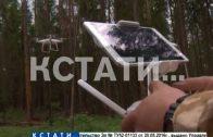 Радиоуправляемые дроны вышли на охрану нижегородских лесов