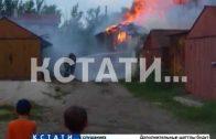 Новые поджоги на улице Ясной