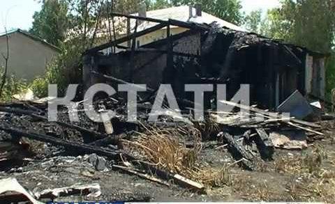 Огненная волна с улицы Ясной докатилась до Борского района