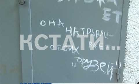 Любовный вандализм в Нижегородском районе