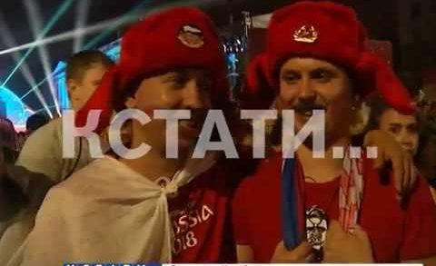 Матч Россия-Хорватия стал главным событием прошедших выходных
