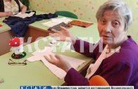 Пенсионеры Краснобаковского района на радость жителям начали играть в куклы