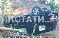 Пьяный водитель, похожий на начальника полиции, совершил ДТП и скрылся