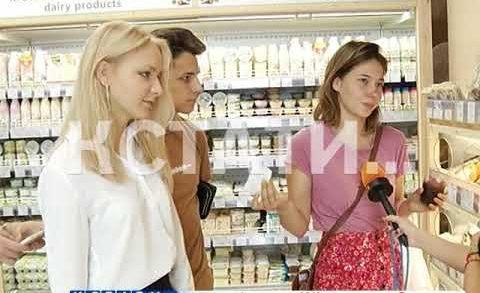 В Нижегородском магазине, в качестве креатива, стали говорить с покупателями матом