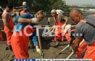 Ремонт Мызинского моста власти планируют закончить до начала осени