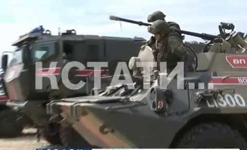 Военная полиция со всей России собралась в Мулино — там проходят масштабные учения