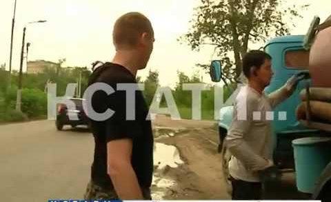Жилой район «черные ассенизаторы» превратили в городской общественный туалет
