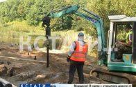 Мэр города проверил ход работ по благоустройству Щелковского хутора