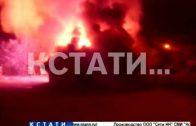 Пироманы снова атакуют новые поджоги сараев в Сормовском районе