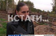 Свалку из скелетов устроили неизвестные на Cеменовской трассе