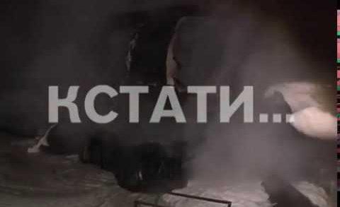 На заправке в поселке Дружный взорвался бензовоз