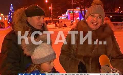 Сказочный снежный коктейль — герои детских сказок поселились в Автозаводском парке