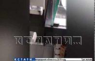 Тараканьи бега по прилавкам в продуктовом магазине в Приокском районе.