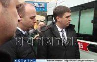 Нижегородским медикам вручили ключи от 19 новых машин скорой помощи