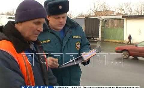 Хотя на улице еще лежит снег, Нижний Новгород готовится к пожароопасному сезону