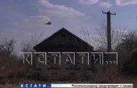 Чтобы не допустить распространение огня на нефтепровод, пожарные использовали вертолёт