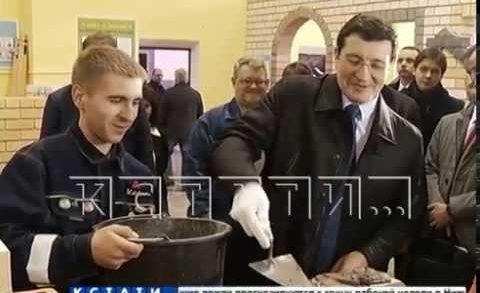 Губернатор Глеб Никитин посетил сегодня Перевозский район