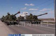 Нижний Новгород готовится к параду Победы