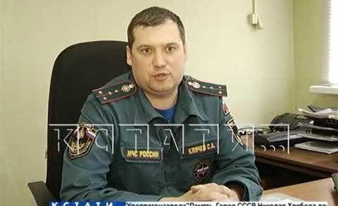 Первый травяной пожар вспыхнул в Нижегородcкой области.