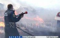 В самом пекле — съемочная группа оказалась в эпицентре травяного пожара