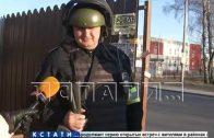 Выезды из Нижнего Новгорода вечером перекрыли спецслужбы