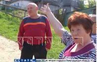 Ангар для хранения фекальных отходов установили посреди жилой улицы коммунальщики Лыскова