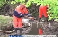 Нижегородский водоканал снова борется с наводнением