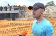 При прокладке новой дороги в Дивееве замуровали жилые дома