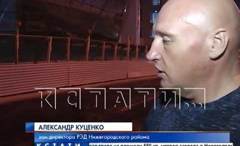 В Нижнем Новгороде ямочный ремонт стали вести по ночам