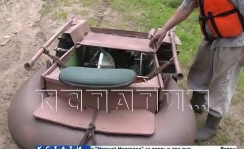 Автомобиль-амфибию для поездок на рыбалку построил пенсионер в Кстовском районе