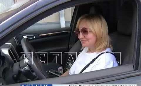 Cотрудники ГИБДД провели повторную проверку паркующихся на улице Рождественской автомобилистов.