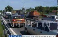 Экспериментальная полоса для автобусов на проспекте Гагарина сокращает свою работу