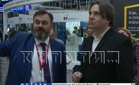 Стэнд Нижегородской области самый интересный на Петербургском международном экономическом форуме