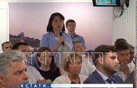Мэр города провел встречу с нижегородскими предпринимателями