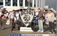 Нижегородский баскетбольный клуб представил свой новый логотип