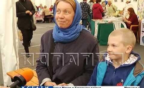Самый семейный фестиваль открылся на Нижегородской ярмарке