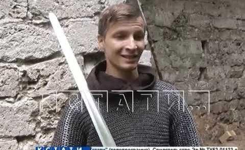 Средневековая битва в современных декорациях — на Нижневолжской набережной на мечах сразятся рыцари