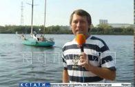 Единственная в России яхта из бетона ходит в Нижегородской области