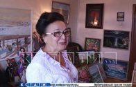 Кистью и красками пенсионерка нарисовала себе вторую жизнь