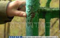 Охотники за цветным металлом совершили налет на Сормовское кладбище