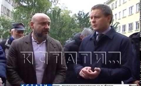 Первые решения проблем после встречи мэра города с жителями Автозаводского района