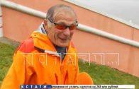 Ползком к молодости — 88-летний пенсионер ежедневно совершает восхождение на Чкаловскую лестницу