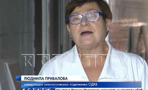 В онкологическом отделении Нижегородской детской областной больнице начат капитальный ремонт