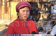 Очистку от сгоревших сараев начали в Сормовском районе