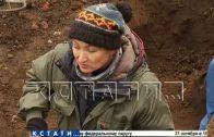 Остатки первого в России фуникулера раскопали в Нижегородском кремле