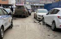 Бизнесмен-уголовник, устроивший автомобильный погром, запугивал семью и держал жену в ошейнике