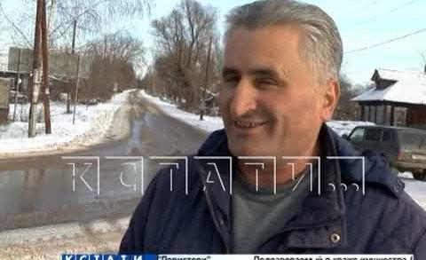 Новую технологию ремонта дорог опробовали в Лысковском районе