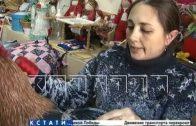 От скуки мастерица из Чкаловска создала уникальную технику шитья