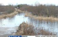 Паводок затопил новые деревни в Воскресенском районе