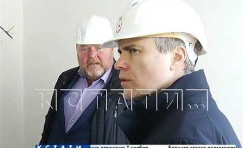 Строительство детского садика в микрорайоне Бурнаковский приближается к завершению